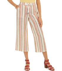 style & co striped cropped pants, created for macy's