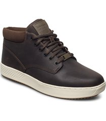cityroam cupsole chukka höga sneakers brun timberland