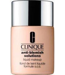 base liquida anti-blemish solutions liquid makeup clinique fresh cream caramel