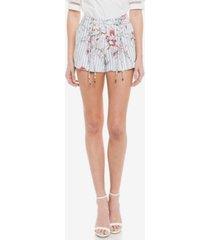 endless rose lily stripe shorts