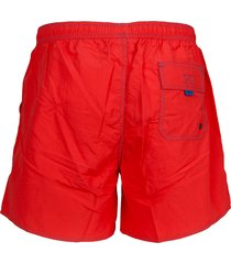 hugo boss zwembroek lobster bright red