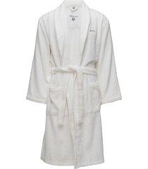 terry robe ochtendjas badjas wit gant