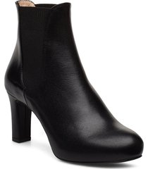 nirma_f19_na shoes boots ankle boots ankle boots with heel svart unisa