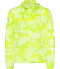 camouflage windbreaker jacket