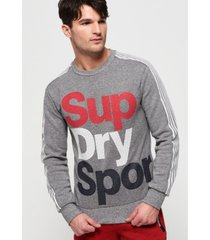superdry athletico crew sweatshirt