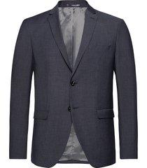 slhslim-mylobill lt blue strc blz b noos blazer colbert grijs selected homme