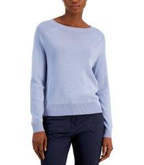 weekend max mara bateau-neck teca sweater