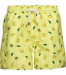 swim shorts sandhamn lemons badshorts gul dedicated