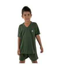 pijama linha 037 noite verde escuro