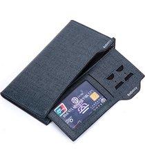 pu leather bifold wallet 17 card slot casual business card pack moneta borsa per gli uomini