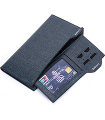 pu leather bifold wallet 17 card slot casual business card pack moneta borsa per gli uomini