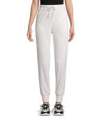 525 america women's drawstring cotton-blend pants - linen - size xs
