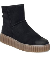 bianca 2 shoes boots ankle boots ankle boot - flat svart marc o'polo