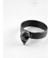 brd srebrny pierścionek każdy rozmiar, czaszka