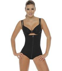 fajas mujer body senos libres/panty body line control 1005 - negro