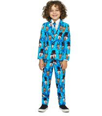 boy's opposuits winter winner two-piece suit with tie