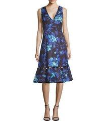 flora v-neck dress