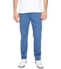 pantalon azul 15-2861 preppy 5 bolsillos 98% algodón 2% elastano