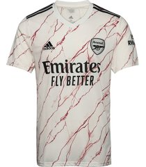 arsenal away jersey t-shirts football shirts crème adidas performance