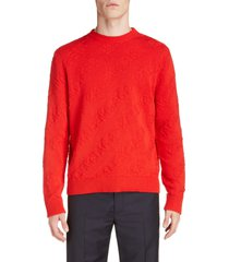 men's balenciaga logo crewneck sweater