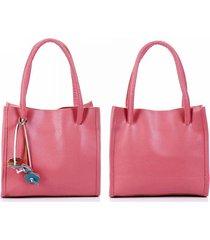 donna casual retro borsa a mano tote bag in colore di caramelle