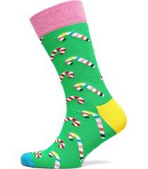 candy cane sock underwear socks regular socks grön happy socks