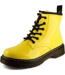 botín city amarillo takones