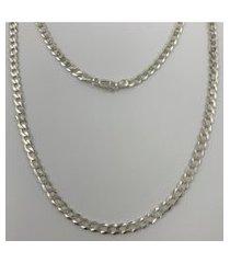 corrente grumet 4,8 mm em prata 925