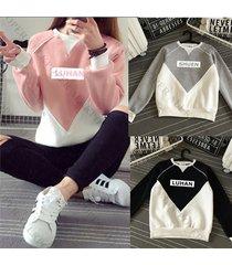 kpop exo women suit sweater chanyeol sehun hoodie pullover jumper sweatershirt