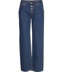 basic denim vida jeans blå ganni