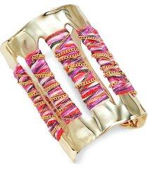 10k goldplated cuff bracelet