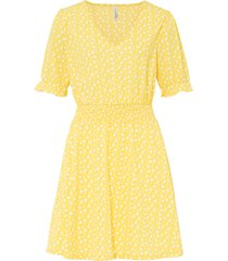 abito in maglina (giallo) - rainbow