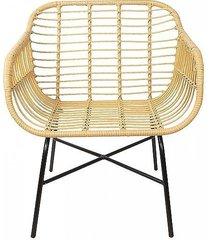 krzesło fotel rattanowy ii