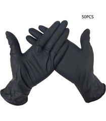 50pcs 10pcs guantes de nitrilo desechables guantes de nitrilo examen médico