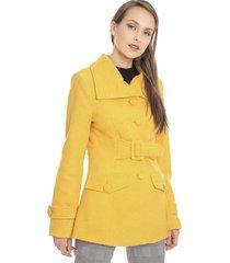 abrigo bunnys amarillo - calce regular