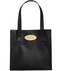 macy's crosshatch patterned tote