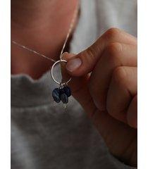 łańcuszek z wisiorkiem blue