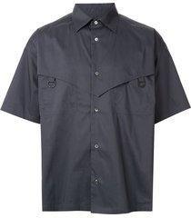 ambush d-ring poplin shirt - grey