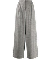 fabiana filippi oversized trousers - black