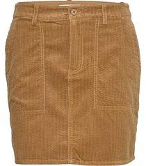 kelly skirt 11153 kort kjol brun samsøe samsøe