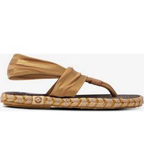 flip-flop ganika sandal metallic w