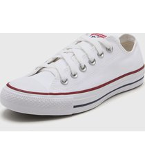 zapatilla blanca converse chuck taylor all star core ox