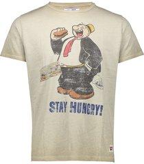 bob t-shirt print popeye pop8 beige