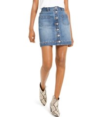 inc studded jean skirt, created for macy's