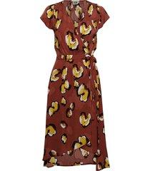 hilma dress knälång klänning röd twist & tango