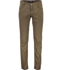 gardeur broek 5-pocket bruin sandro