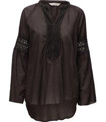 atmosphere l/s blouse blouse lange mouwen zwart odd molly