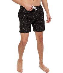 pantaloneta negro-blanco colore