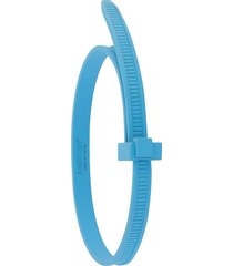 ambush zip tie bracelet - blue