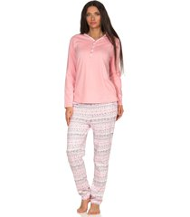 dames pyjama creative 66393-xl 48/50-rose